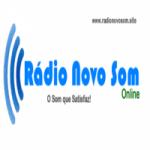 Logo da emissora Rádio Novo Som Online