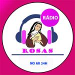 Logo da emissora Rádio Rosas
