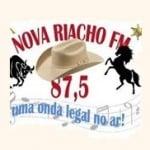 Logo da emissora Rádio Nova Riacho 87.5 FM
