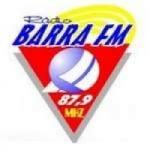 Logo da emissora Rádio Barra 87.9 FM
