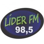 Logo da emissora Rádio Líder 98.5 FM