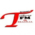 Logo da emissora Rádio Tribuna FM De Brasília