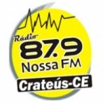Logo da emissora Rádio Nossa FM Crateús 87.9