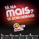 Logo da emissora Rádio Mais 88.9 FM