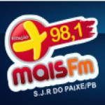 Logo da emissora Rádio Mais 98.1 FM
