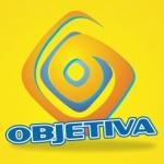 Logo da emissora Rádio Objetiva 107.5 FM