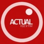 Logo da emissora Radio Actual 102.9 FM