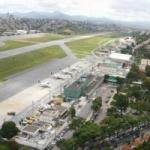 Logo da emissora Aeroporto Carlos Drummond de Andrade