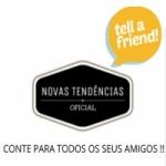 Logo da emissora Novas Tendências Oficial