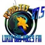 Logo da emissora Rádio Lirio dos Vales 87.5 FM