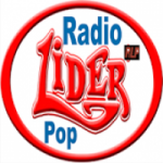 Logo da emissora Rádio Lider Pop