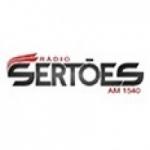 Logo da emissora Rádio Sertões 1540 AM