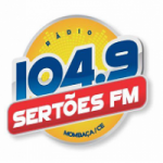 Logo da emissora Rádio Sertões 104.9 FM