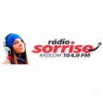 Logo da emissora Rádio Comunitária Sorriso 104.9 FM