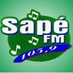 Logo da emissora Rádio Sapé 105.9 FM