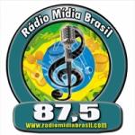 Logo da emissora Rádio Midia Brasil