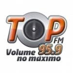 Logo da emissora Rádio Top 95.9 FM