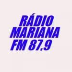 Logo da emissora Rádio Mariana 87.9 FM