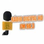 Logo da emissora Radio Digital HD FM 98.3