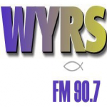 Logo da emissora WYRS 90.7 FM