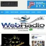 Logo da emissora Rádio Web de Itanhaém