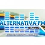 Logo da emissora Rádio Alternativa 105.9 FM