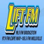 Logo da emissora WZFI 98.5 FM