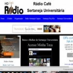 Logo da emissora Rádio Sertaneja Universitária