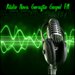 Logo da emissora Rádio Nova Geração Gospel FM