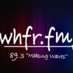 Logo da emissora WHFR 89.3 FM