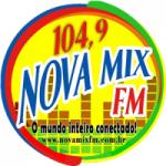 Logo da emissora Rádio Nova Mix 104.9 FM