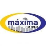 Logo da emissora Radio Maxima 99.9 FM