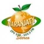 Logo da emissora Rádio Naranjaty 103.3 FM