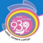 Logo da emissora Radio Santa Rita 93.9 FM