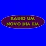 Logo da emissora Rádio Um Novo Dia FM