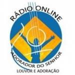 Logo da emissora Rádio Adorador do Senhor