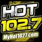Logo da emissora WHTD 102.7 FM