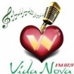 Logo da emissora Rádio Vida Nova 87.9 FM
