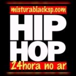 Logo da emissora Rádio Mistura Black SP