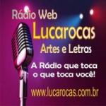 Logo da emissora Lucarocas Artes e Letras