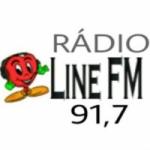 Logo da emissora Radio Line 91.7 FM