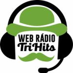 Logo da emissora Rádio Tri Hits