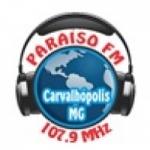 Logo da emissora Rádio Paraíso 107.9 FM