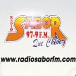 Logo da emissora Radio Sabor 97.9 FM