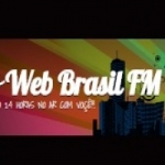 Logo da emissora Rádio Web Brasil FM
