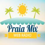 Logo da emissora Rádio Praia Mix