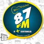 Logo da emissora Rádio Metrô 87.9 FM