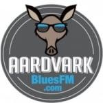 Logo da emissora Aardvark Blues FM