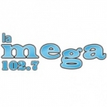 Logo da emissora Radio La Mega 102.7 FM