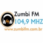 Logo da emissora Rádio Zumbi dos Palmares 104.9 FM